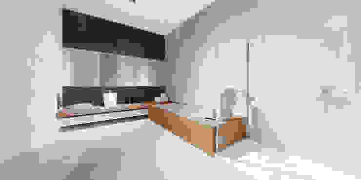 łazienka Minimalistyczna łazienka od Ajot pracownia projektowa Minimalistyczny