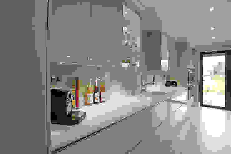 Cashmere gloss lacquer kitchen finish LWK London Kitchens Modern style kitchen