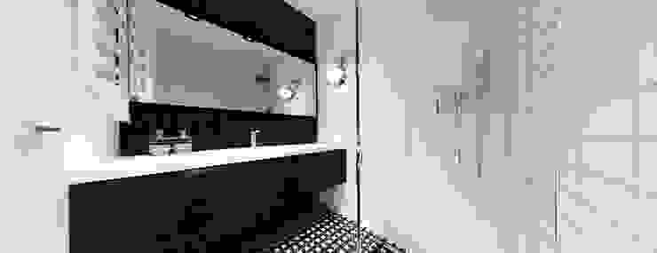 łazienka córki Minimalistyczna łazienka od Ajot pracownia projektowa Minimalistyczny