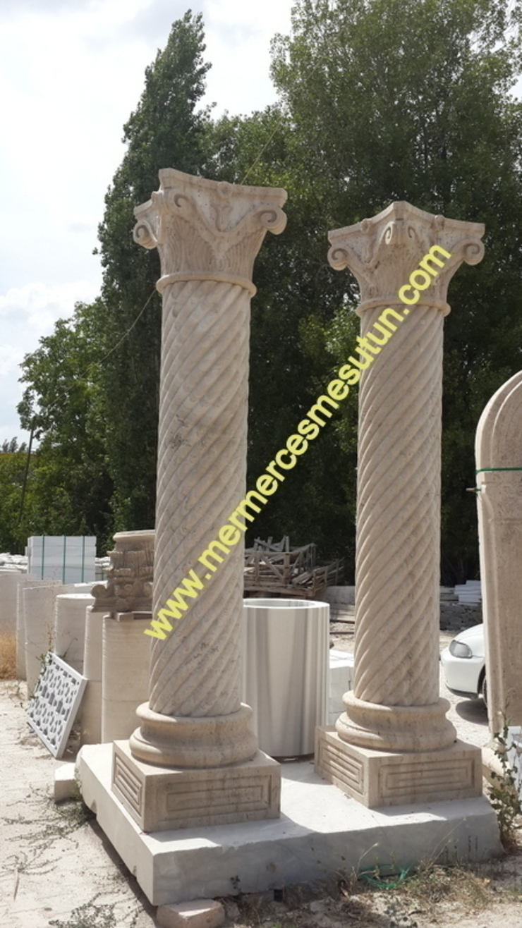 mermer sütun mermer kolon abahanoğlu mermer