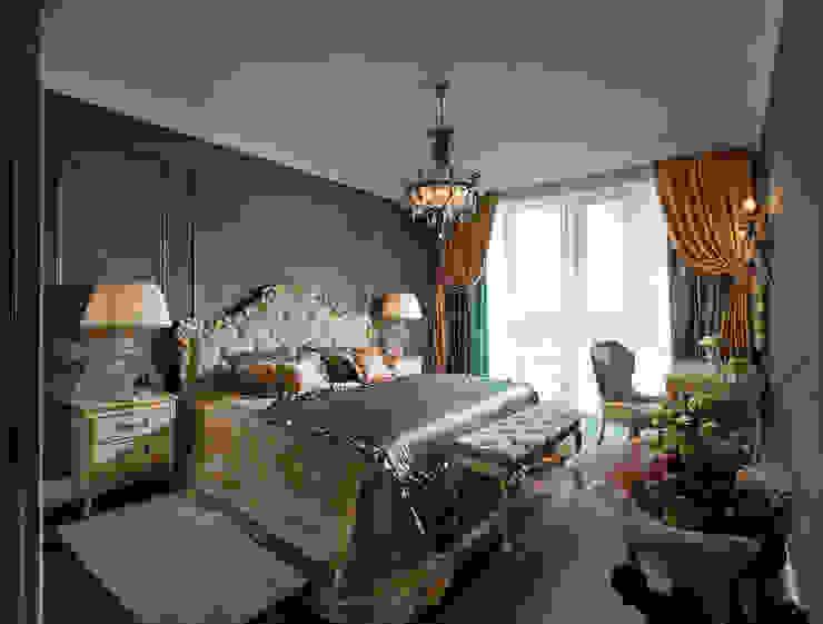 спальня:  в . Автор – Sempre Arte