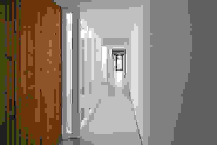 Lichthof in de gangen van Ed Bergers Architecten