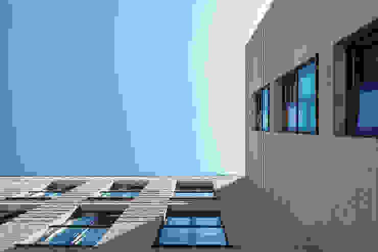 Detail gevelmetselwerk van Ed Bergers Architecten