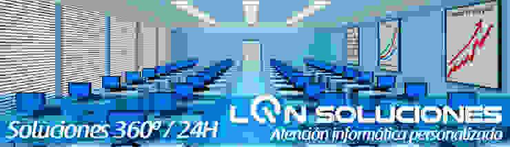 LQN Soluciones Mantenimiento Informático Espacios comerciales de estilo moderno de LQN Soluciones Mantenimiento Informático Moderno