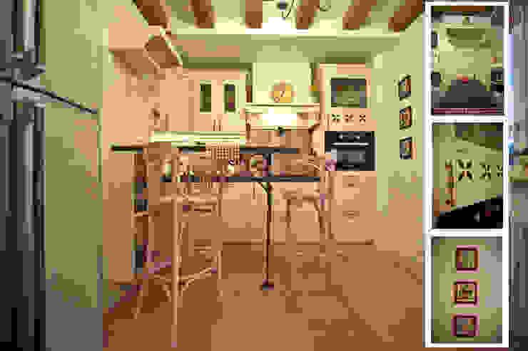 Прованс в мегаполисе Кухня в стиле кантри от RICCA DESIGN Кантри