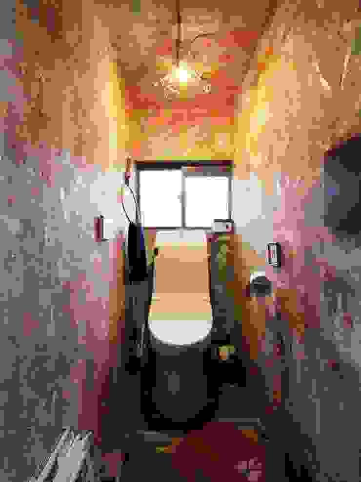 日野の家 オリジナルスタイルの お風呂 の HandiHouse project オリジナル