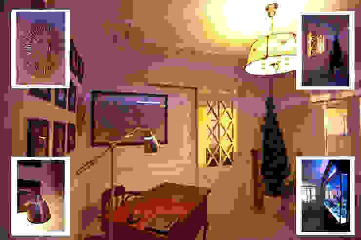 Прованс в мегаполисе Рабочий кабинет в стиле кантри от RICCA DESIGN Кантри