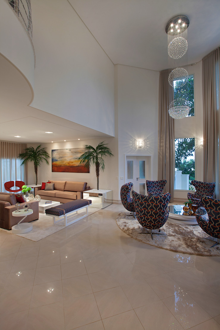 Designer de Interiores e Paisagista Iara Kílaris Living room