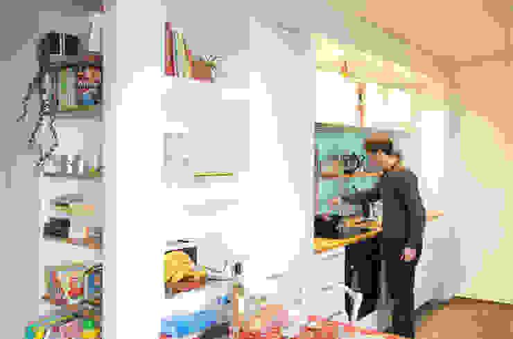Dapur Modern Oleh ATELIER R ARCHITECTES Modern