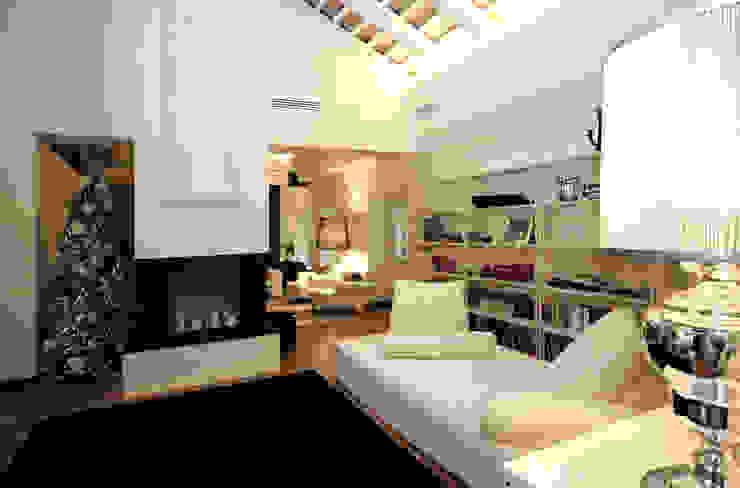Casa S Arch. Roberto Buzzi Soggiorno moderno