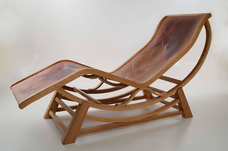 Corbusier-inspired chaise longue by Bruce Burman de bruceburman Clásico