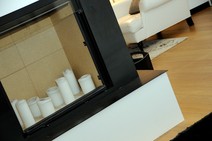 Arch. Roberto Buzzi Living roomFireplaces & accessories