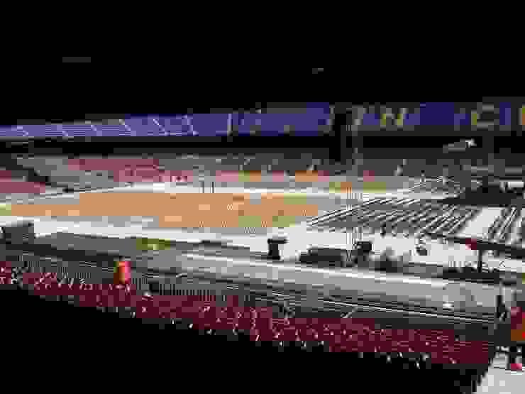 Concierto en el Camp Nou Estadios de estilo mediterráneo de GARCIA HERMANOS Mediterráneo