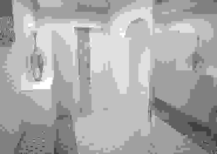 Квартира на ул.Мира Коридор, прихожая и лестница в средиземноморском стиле от DS Fresco Средиземноморский