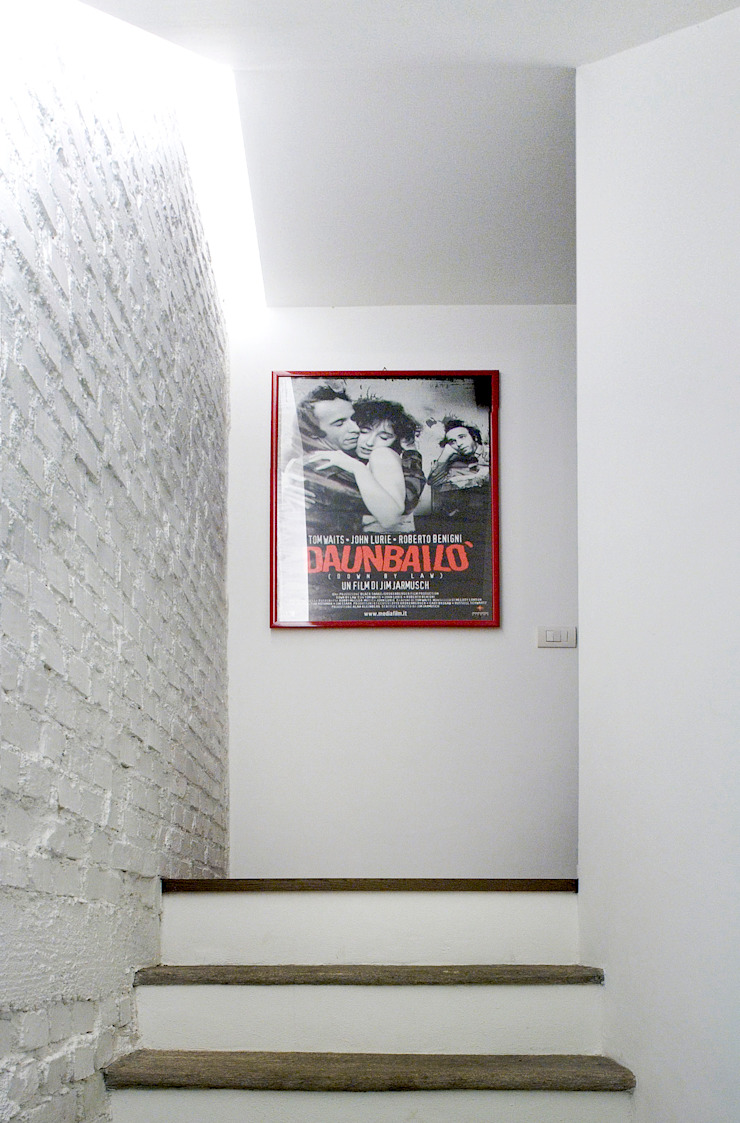 M N A - Matteo Negrin Minimalist corridor, hallway & stairs