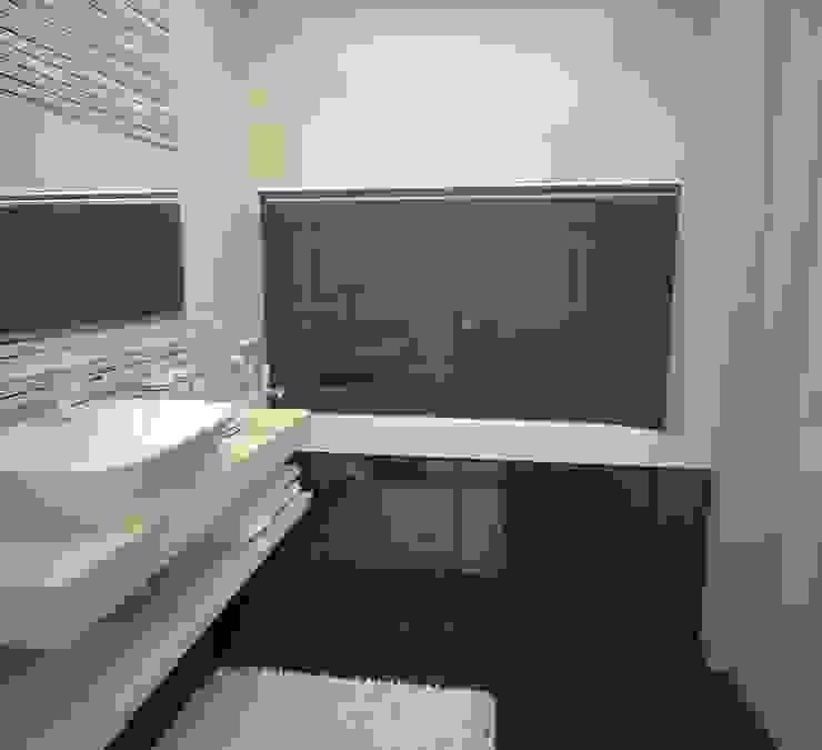 Квартира на ул.Мира Ванная в азиатском стиле от DS Fresco Азиатский