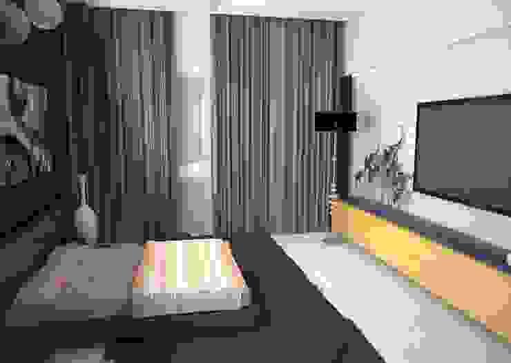Квартира на ул.Мира Спальня в азиатском стиле от DS Fresco Азиатский