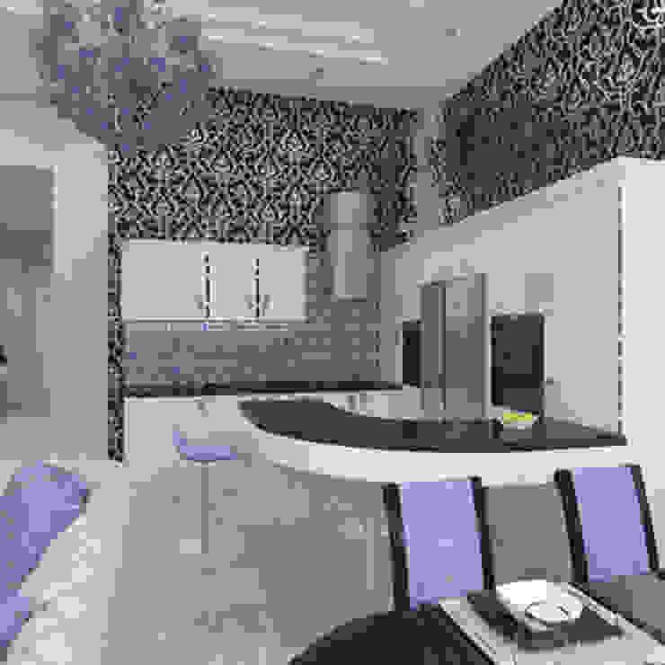 квартира в стиле арт деко Кухня в классическом стиле от архитектор-дизайнер Алтоцкий Михаил (Altotskiy Mikhail) Классический