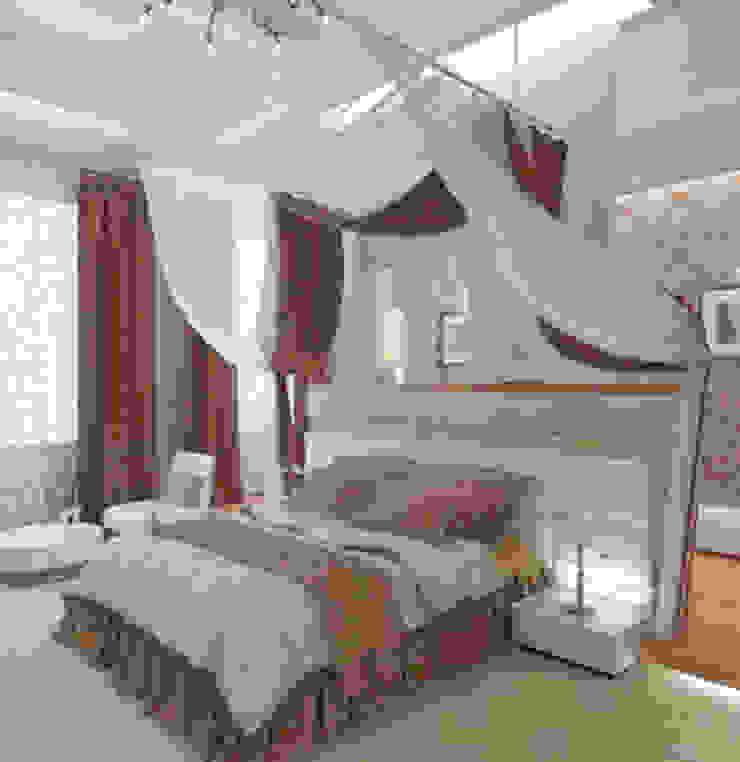 квартира в стиле арт деко Спальня в классическом стиле от архитектор-дизайнер Алтоцкий Михаил (Altotskiy Mikhail) Классический