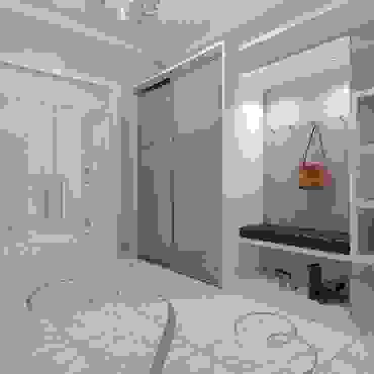квартира в стиле арт деко Коридор, прихожая и лестница в классическом стиле от архитектор-дизайнер Алтоцкий Михаил (Altotskiy Mikhail) Классический