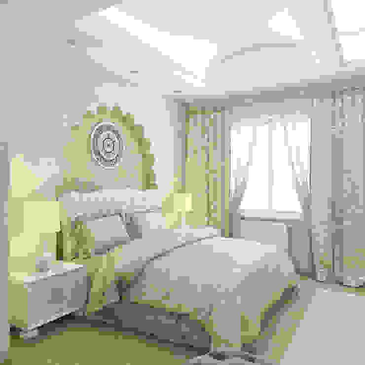 квартира в восточном стиле Спальня в азиатском стиле от архитектор-дизайнер Алтоцкий Михаил (Altotskiy Mikhail) Азиатский
