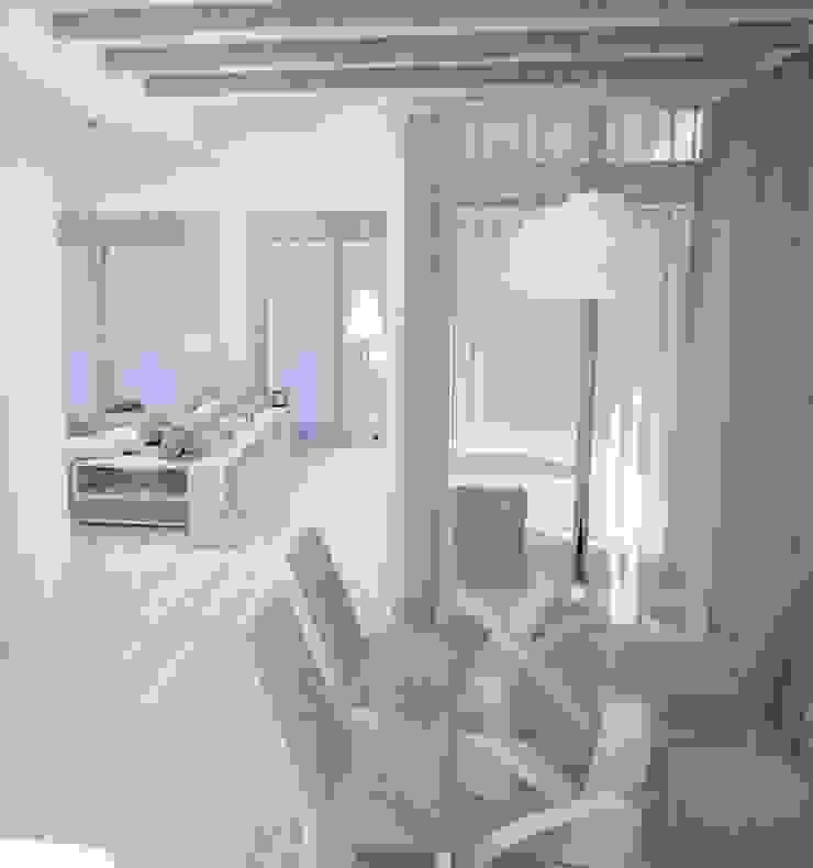 Средиземноморье в г.Анапа Столовая комната в средиземноморском стиле от DS Fresco Средиземноморский