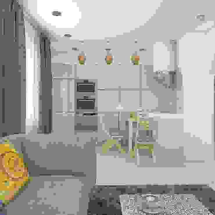 квартира в восточном стиле Кухня в азиатском стиле от архитектор-дизайнер Алтоцкий Михаил (Altotskiy Mikhail) Азиатский