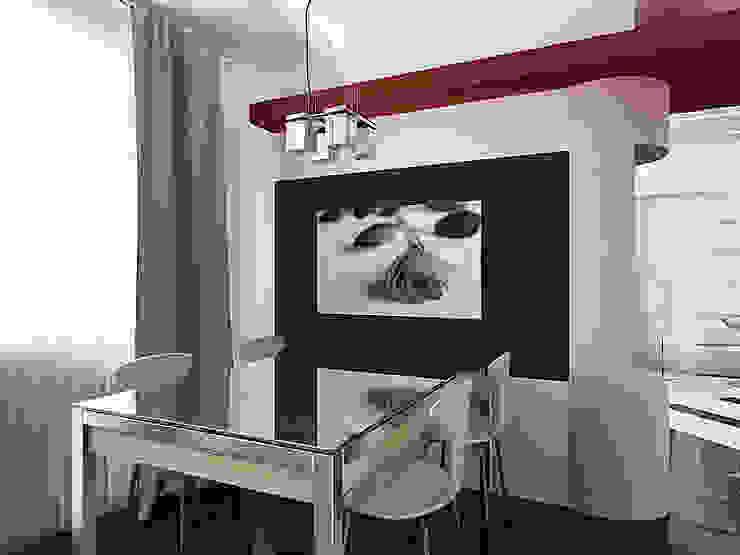 квартира в стиле минимализм 1 Кухня в стиле минимализм от архитектор-дизайнер Алтоцкий Михаил (Altotskiy Mikhail) Минимализм