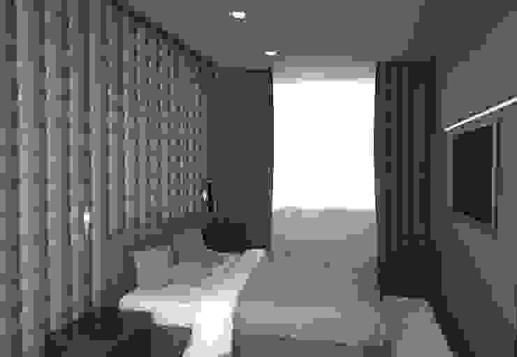 Волгоград-Сити Спальня в стиле минимализм от DS Fresco Минимализм