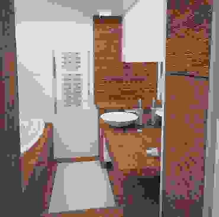 Волгоград-Сити Ванная комната в стиле минимализм от DS Fresco Минимализм