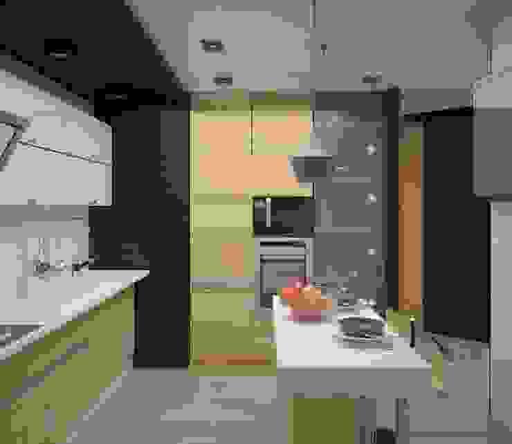 Волгоград-Сити Кухня в стиле минимализм от DS Fresco Минимализм