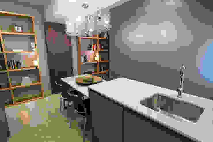 Reforma de vivienda integral. ELEGANT. COCINA Comedores modernos de R-decora - Obras, Reformas y Decoración Moderno