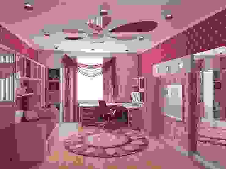 детские Детская комната в стиле модерн от архитектор-дизайнер Алтоцкий Михаил (Altotskiy Mikhail) Модерн