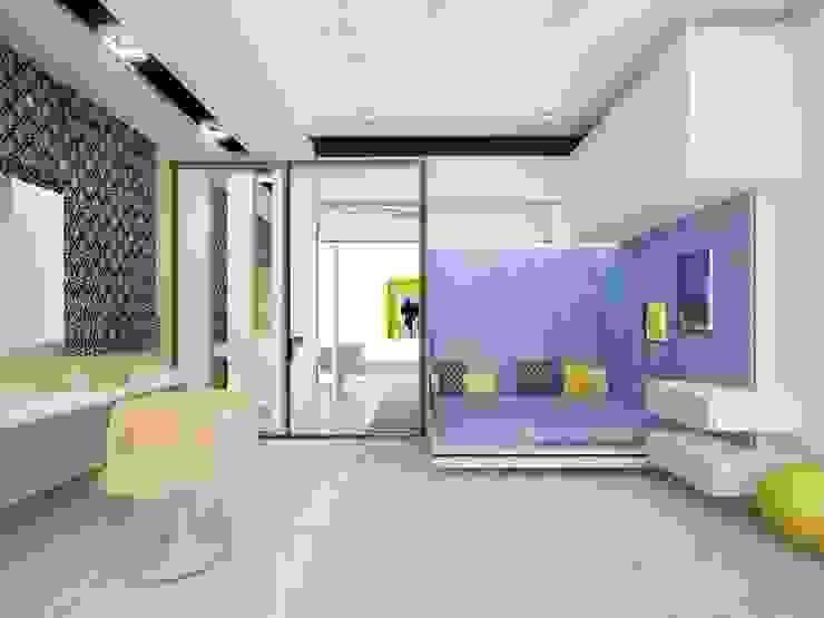 Коттедж Детская комната в стиле модерн от DS Fresco Модерн