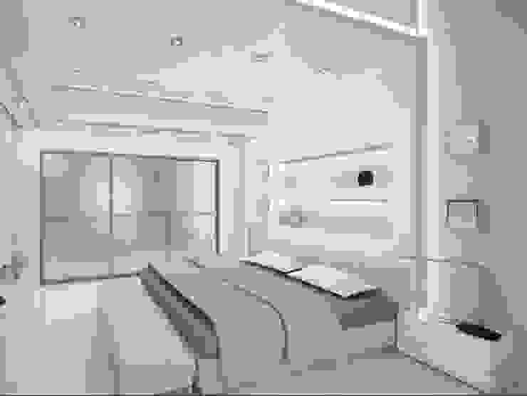 Коттедж Спальня в стиле минимализм от DS Fresco Минимализм