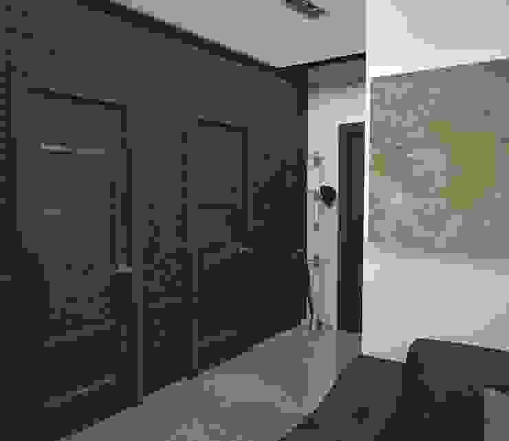 Квартира холостяка Коридор, прихожая и лестница в стиле лофт от DS Fresco Лофт