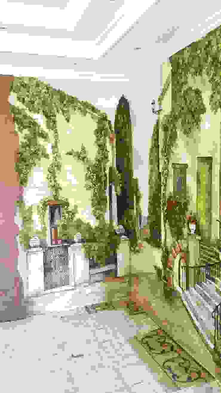 улочка Гостиная в классическом стиле от Абрикос Классический