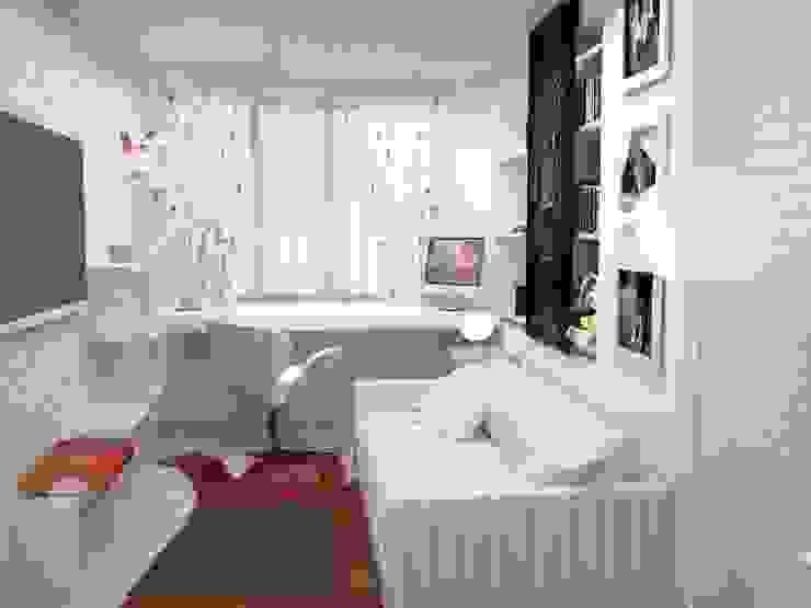 Двухкомнатная квартира Детская комната в стиле лофт от DS Fresco Лофт