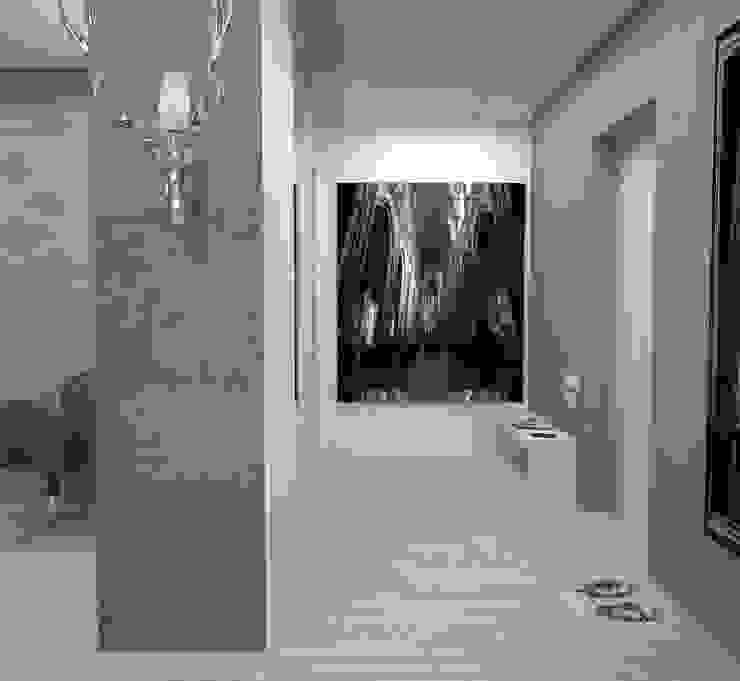 Двухкомнатная квартира Коридор, прихожая и лестница в стиле лофт от DS Fresco Лофт
