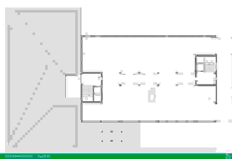 UMBERTO ALESI architetto Modern garage/shed