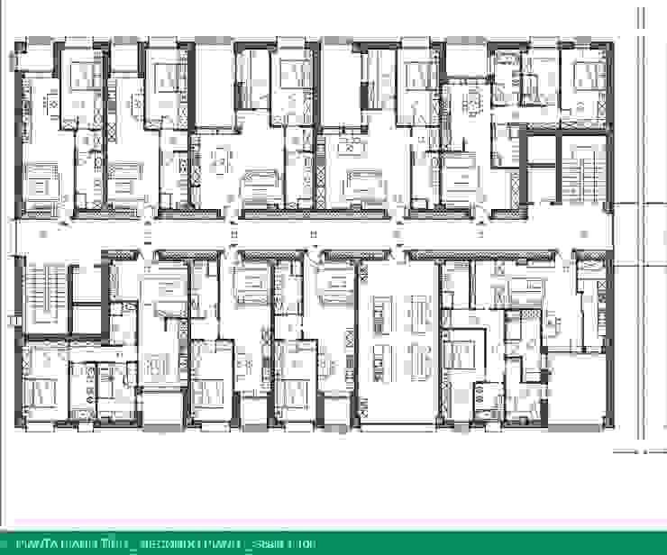 UMBERTO ALESI architetto Rumah Modern