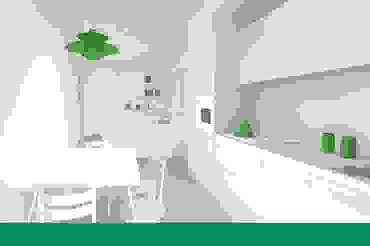 UMBERTO ALESI architetto Modern style kitchen