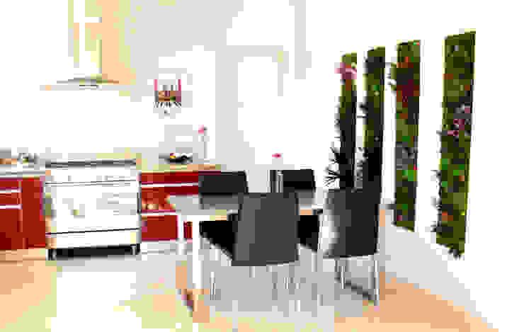 3dvegetal Cocinas de estilo moderno