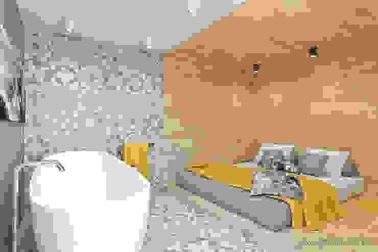 mieszkanie – Zakopane, Słoneczna – wizualizacja Nowoczesna sypialnia od MIRAI STUDIO Nowoczesny