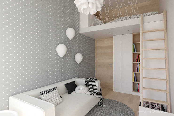 Nursery/kid's room by MIRAI STUDIO, Scandinavian
