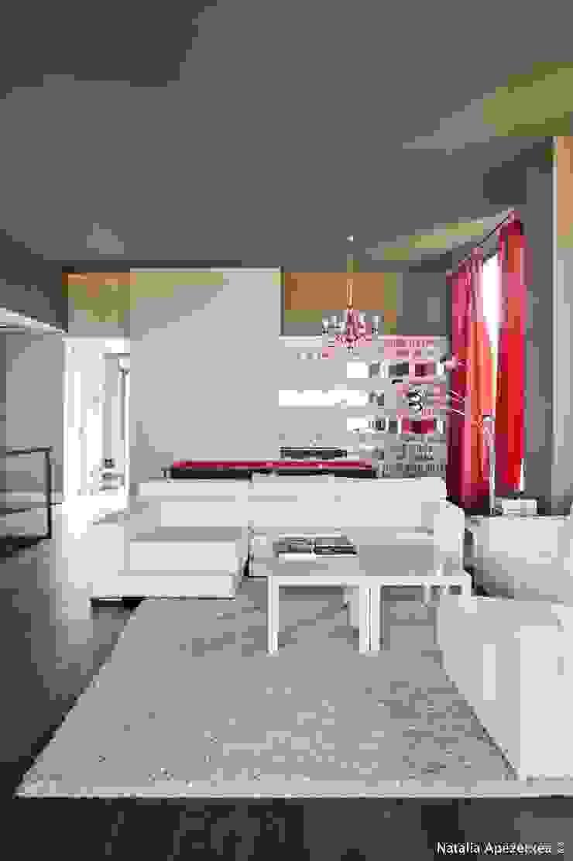 VIVIENDA UNIFAMILIAR 100% FENG SHUI Salones de estilo moderno de AREA FENG SHUI │Arquitectura Interiorismo y Decoración Feng Shui Moderno