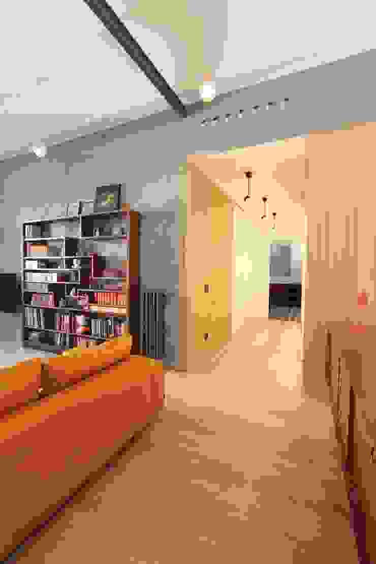 Livings de estilo moderno de studio magna Moderno