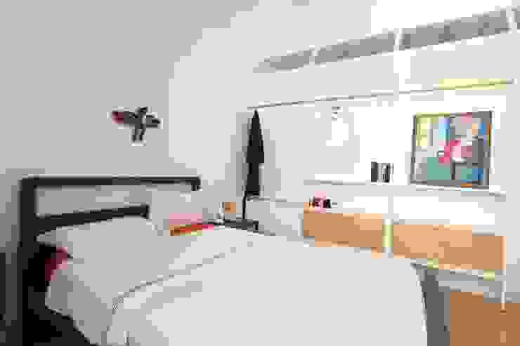 Dormitorios de estilo moderno de studio magna Moderno