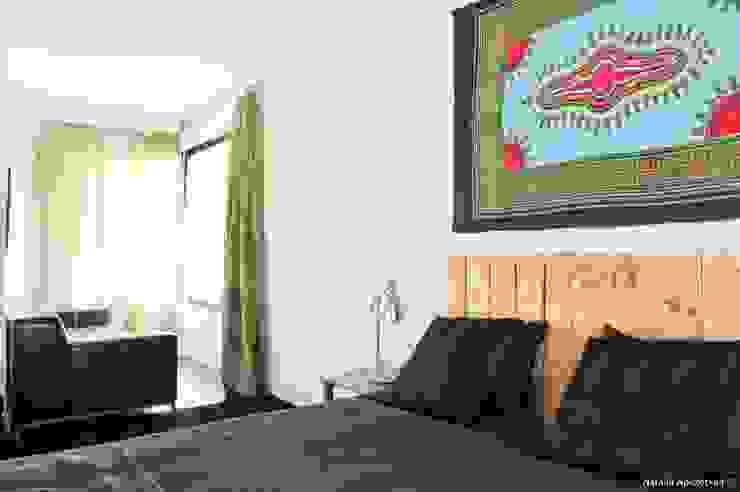 HABITACIÓN DE LA PROTECCIÓN Dormitorios de estilo ecléctico de AREA FENG SHUI │Arquitectura Interiorismo y Decoración Feng Shui Ecléctico