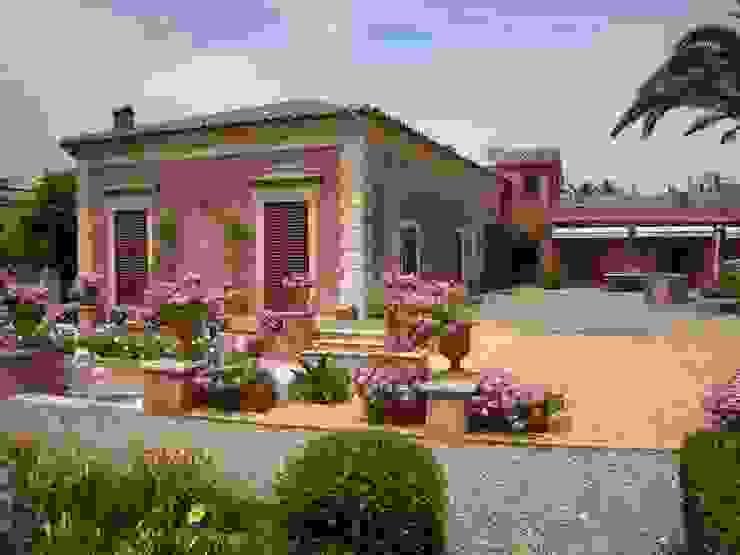 SciaraNiura landscape architecture studio Mediterranean style garden
